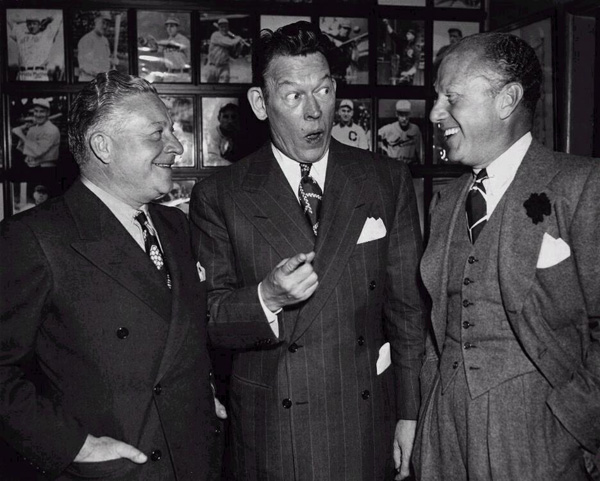 Fred Allen with Freeman and Gosden (Amos and Andy)